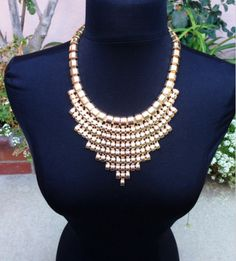 Cute gold necklace