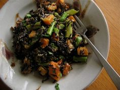 Warm Wild Rice Salad