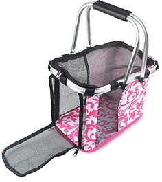 Pet Carrier, CandD Waterproof Oxford Fabric Pet Foldable Carrier Dog Tote Purse Travel Basket Portable Tote Bag >>> For more information, visit now : Products for dogs