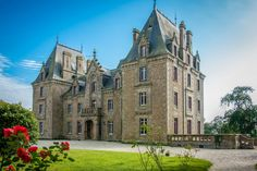 Fairytale 18th Century Château to be restored, set in 23 hectares with outbuildings, four bed house and 2 one bed guest houses, Montenay.