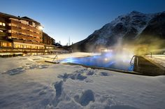 QUELLENHOF LEUTASCH/TIROL****S Winteransicht  #leadingsparesorts #wellness #spa #quellenhof #leutasch #tirol #mountains #nature #view #pool #urlaub #vacation #winter #snow