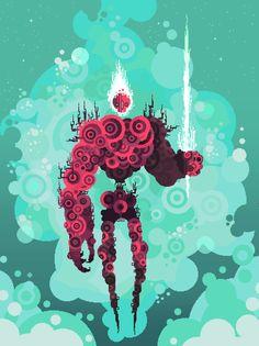 Moonsplitter by Carrion | Digital / Pixel Art | Newgrounds.com