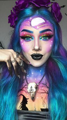 Fx Makeup, Cosplay Makeup, Costume Makeup, Special Makeup, Special Effects Makeup, Crazy Makeup, Cute Makeup, Amazing Halloween Makeup, Halloween Face Makeup