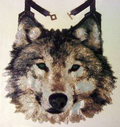 Peyote pattern for Large Wolf Necklace. $15.00, via Etsy.