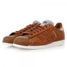 Adidas Originals Superstar   80s Varsity Jack Dust Rust Shoes