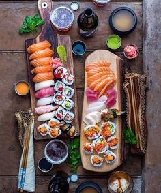 Sushi & Chill  - Courtesy @dennistheprescott cc: @lifestylecuisine  via LUXURY LIFESTYLE MAGAZINE OFFICIAL INSTAGRAM - Luxury  Lifestyle  Culture  Travel  Tech  Gadgets  Jewelry  Cars  Gaming  Entertainment  Fitness