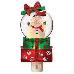 Packages With Snowman Shimmer