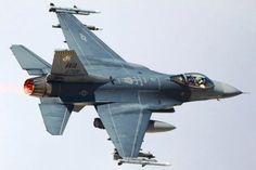 F-16. Fuerza Aérea de los EE.UU.