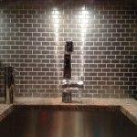 Stainless Steel Tile Kitchen Backsplash