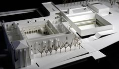 © carrilho da graça - recovery and convertion to museum of the convento de jesus - setubal, portugal - architectural model, maqueta, modulo Autocad Architecture, Architecture Plan, Interior Architecture, Stair Layout, Arch Model, Adaptive Reuse, Portugal, Home Living Room, Architectural Models