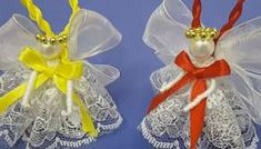 These Adorable Angel Ornaments Are So Easy To Make!