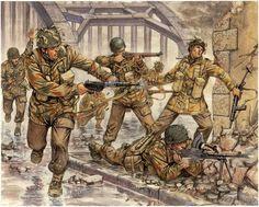 Diavoli Rossi. Paracadutisti britannici all'attacco del ponte  di Arnhem. Giuseppe Rava