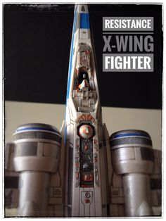 Resistance X-Wing Fighter with pilot & BB8 painted build