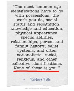 Forget labels and definitions.  #eckharttolle #eckharttollequotes #kurttasche