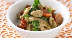 Don't go out for Thai food when you can create your own sensational green chicken curry at home in less time than it would take to drive to the restaurant.