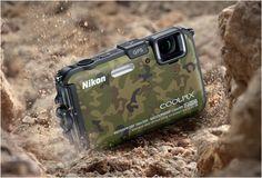 Nikon Coolpix AW100 Camouflage