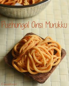 Puzhungal arisi murukku recipe with full video and step by step pictures! south Indian murukku made with parboiled rice and fried gram dal (pottukadalai) by grinding wet batter in grinder.