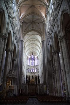 Amiens Cathedral in France.  The pinnacle of Gothic architecture.