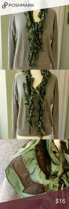 🌻Stretchy scarf Jade green and black stretchy scarf Accessories Scarves & Wraps