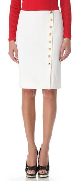 d7eb6ac8bd Gold Button Pencil Skirt - Versace gimme Versace Gold, Vip Fashion  Australia, Simply Fashion