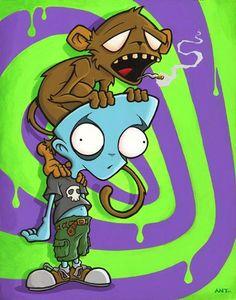 Monkey On Your Back ~ Anthony Clarkson