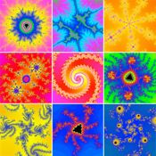 Fractals- move and pinch fractals in real time