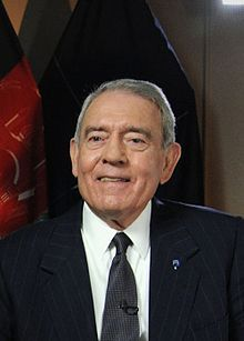 """Daniel Irvin """"Dan"""" Rather, Jr. (born October 31, 1931) an American journalist, CBS Evening News anchor (1981–2005)"""