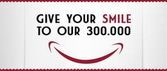 Prova l'app Give your smile to our 300mila di Fiat 500 su Facebook