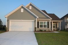 Single-story Carson model at Clear Pond.  Myrtle Beach homes for sale.  #clearpond