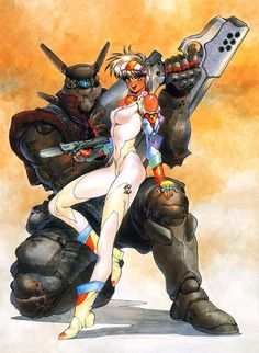 Appleseed is a four volume Cyber Punk/Mecha manga written between 1985 and 1989 by Shirow Masamune, of Ghost in the Shell fame. It led to OVA and feature … Sci Fi Kunst, Cyberpunk Kunst, Cyberpunk Anime, Comic Kunst, Mecha Anime, Comic Art, Manga Art, Anime Art, Character Art