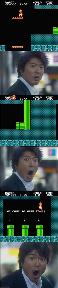 Super Mario Brothers will Blow Your Mind
