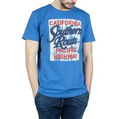 T-Shirt Esprit uomo celeste 026EE2K031-E405 | €12.99