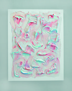 Jogging: The Art Of Politics- Untitled (Aquafresh I),2012 byJesse Stecklow.