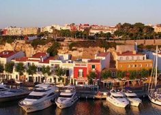 Mahon harbor Menorca