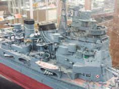 "IJN Heavy Cruiser ""Takao"" 1/100 Museum Quality Scale Model"