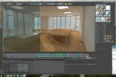 Desarrollo c4d oficina