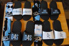 D4S Basketball Custom Slides!