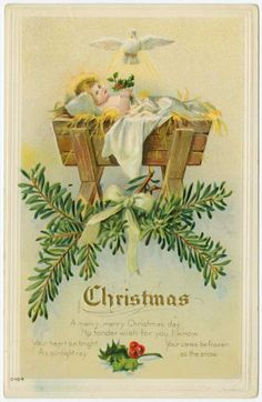 Vintage christmas card images windows yahoo image search results the feathered nest decking the halls vintage christmas card m4hsunfo