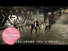 So I do like this version of the mv, but I can't help but wonder why they are all wearing what looks like dog harnesses. Like I could just walk in there with a leash and walk any one of them out.... EXO_으르렁 (Growl)_Music Video_2nd Version (Chinese ver.) - YouTube