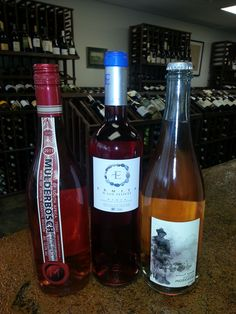 """This week's wine tasting will feature """"pink"""" wines.  We are tasting an interesting Cabernet Sauvignon Rosé, Rioja Rosé and an Australian Pink Moscato. Lovely and refreshing! Rosés are great for pairing with appetizers and savory meals. Moscato is nice as a dessert wine, perfect for those who love the sweet stuff. Stop in to check out these wines and show your support for Breast Cancer Awareness and finding a cure by purchasing tickets for Matco Tools, Tools for the Cause."""