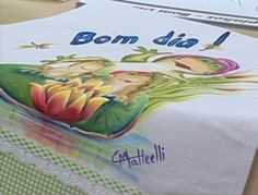 Arte Brasil | Sapos em Pano de Copa - Beth Matteelli