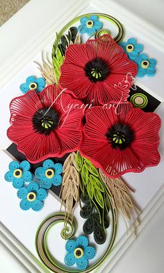 Ayani Art quilling!