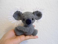 Crochet tutorial /How to crochet koala bear