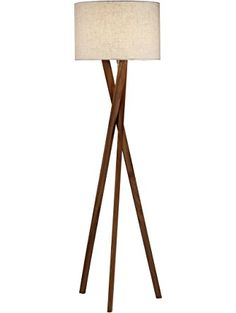 Adesso 3227-15 Brooklyn Floor L& ? Adesso  sc 1 st  Pinterest & Brightech - Bijou Tripod Floor Lamp [Designer Series] (Natural ... azcodes.com