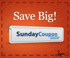 See What Coupons Will Be In Your Sunday Paper!!  Click Here ----->>http://wp.me/p2M1B9-1er