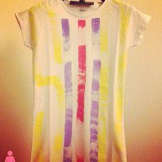T-shirt Si iO donna mod. Slim dipinta a mano - disponibile nelle taglie S- M - L