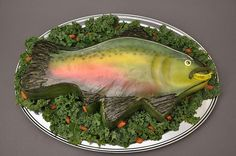 AB5 - Salmon  Customer must provide greens, nuts & tray.