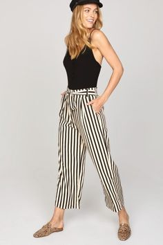 Amuse Society Voodoo Striped Trousers