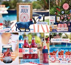 """Super excited to share this """"ALL-AMERICAN COUNTY FAIR"""" 4th of July Party that we recently created for Hebrew National! Lots of patriotic party inspiration + FREE PRINTABLES for you! http://hwtm.me/ZrEaIo"""