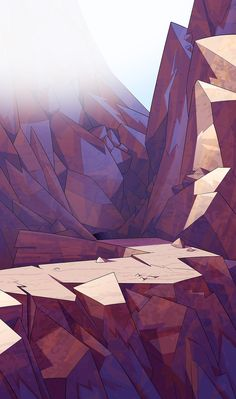 Background concepts for a 3d movie by Marco Pegoraro, via Behance